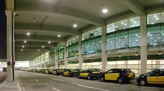 Taxis al aeropuerto de Barcelona
