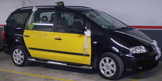 Taxi de 7 plazas en Barcelona