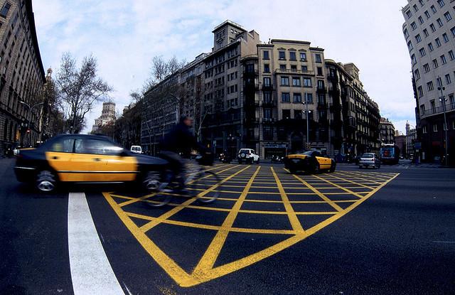 Paseos en taxi por Barcelona