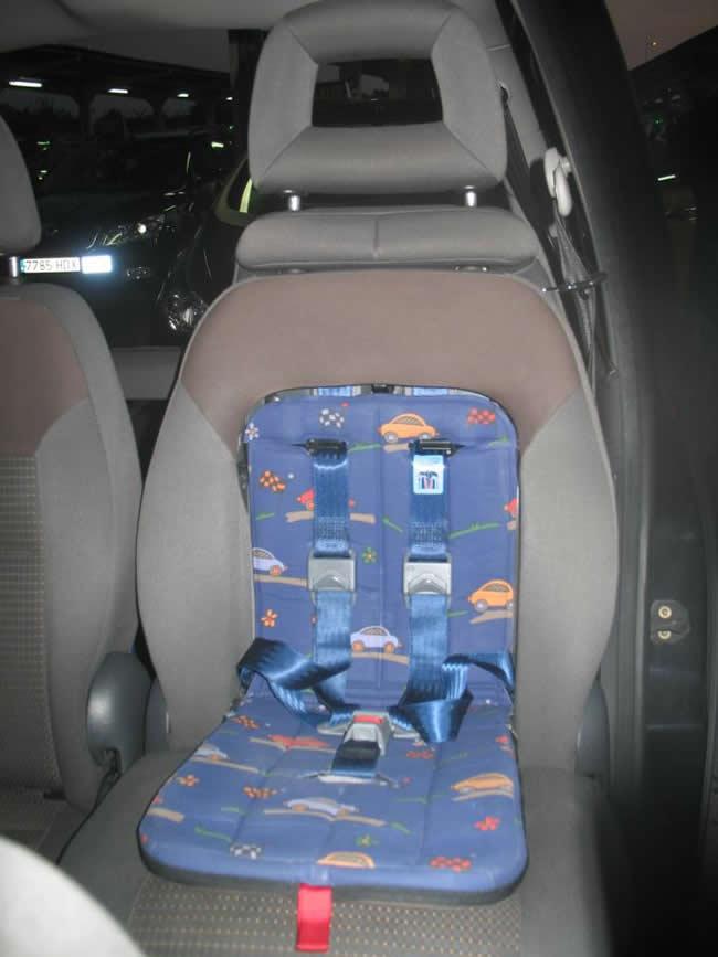 Taxi con Silla para Bebés