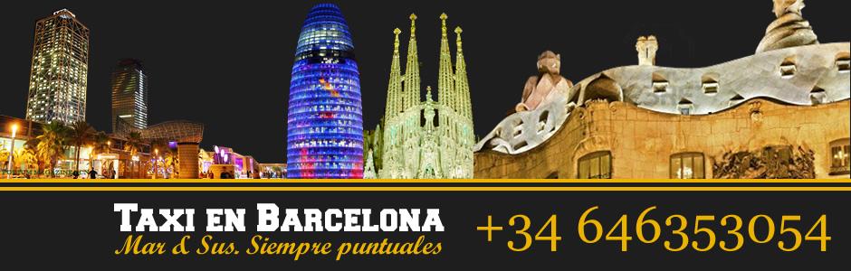 Solicite su taxi en Barcelona